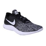 Nike Flex Contact Sneakers Olahraga Pria Black White Promo Beli 1 Gratis 1