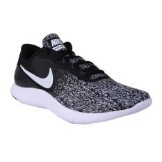 Jual Nike Flex Contact Sneakers Olahraga Pria Black White Nike Ori