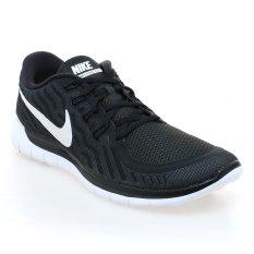 Beli Nike Free 5 Sepatu Lari Pria Hitam Putih Indonesia