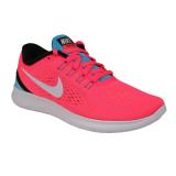 Jual Beli Nike Free Rn Women S Running Shoes Racer Pink Chlorine Blue Hitam Off White Jawa Barat