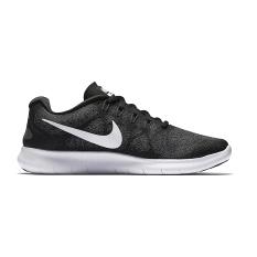 Beli Nike Free Run 2017 Sepatu Lari Black White Dark Pake Kartu Kredit