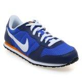 Nike Genicco Sepatu Lari Pria Biru Oranye Putih Indonesia Diskon