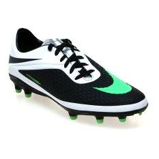Jual Nike Hypervenom Phelon Fg Sepatu Bola Black Neo Lime White Metallic Silver Baru