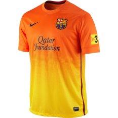 Nike Jersey Away SS FC Barcelona - Oranye/ Kuning