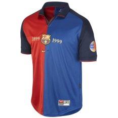 Jual Nike Jersey Barcelona Fcb Ss Centenial 1999 Biru Merah