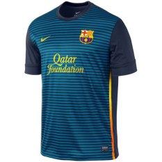 Nike Jersey Home SS FC Barcelona T Prematch - Biru Navy/ Marun
