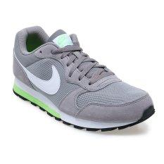 Jual Nike Md Runner 2 Sepatu Lari Pria Dust White Electric Green Online Indonesia