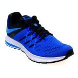 Jual Nike Men S Air Zoom Winflo 3 Running Shoes Racer Blue Blue Glow Black White Indonesia