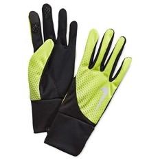 Nike Pria Dri-fit Tailwind Sarung Tangan-Volt/Hitam-L-Internasional