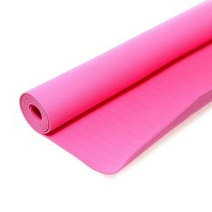 Jual Nike N Ye 02 647 Os Fundamental Yoga Mat 3Mm Vivid Pink Branded Murah