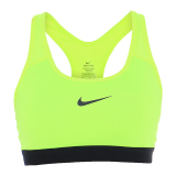Harga Nike Pro Classic Padded Bra Yellow Paling Murah