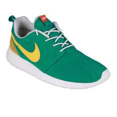Jual Nike Roshe One Retro Sneakers Pria Hijau Kuning Lengkap