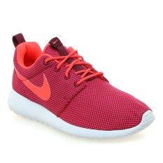 Harga Nike Roshe One Sepatu Wanita Deep Garnet Bright Crimson Pure Platinum Branded