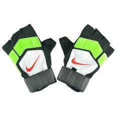 Toko Nike Sarung Tangan Futsal Hitam Hijau Putih Online