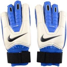Nike Sarung Tangan Kiper Gk Spyne Pro Putih Biru Di Indonesia