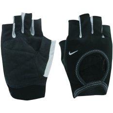 Nike Sarung Tangan Latihan Womens Fit Essential Hitam Putih Murah