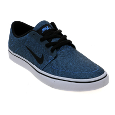 Diskon Nike Sb Portmore Canvas Shoes Photo Blue Black White Indonesia