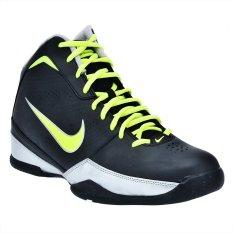 Spesifikasi Nike Sepatu Basket Air Quick Handle Black Yellow Murah