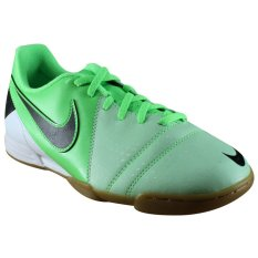 Nike Sepatu Futsal Ctr360 Enganche Iii Ic White Green Black Original