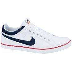 Harga Nike Sepatu Lari Capri Iii Low Leather White Black Satu Set