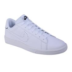 Promo Nike Tennis Classic Cs Sneakers Olahraga Pria White White Black Nike