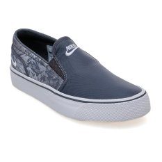 Beli Barang Nike Toki Printed Slip On Dark Grey White Wolf Grey Anthracite Online