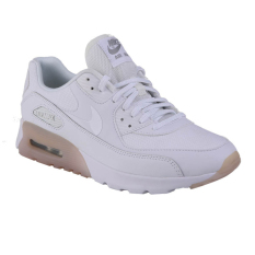 Nike W Air Max 90 Ultra Essential Sepatu Lari - White/White-Metallic Si