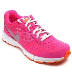 Nike Women Air Relentless 4 MSL 685152601-Sepatu Lari/Running/Fitness Wanita - Pink-Silver