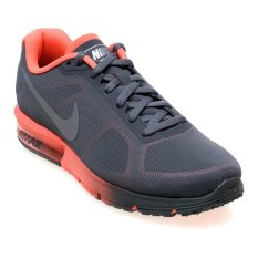 Beli Nike Women S Air Max Sequent Running Shoes Cool Grey Metallic Silver Bright Mango Online