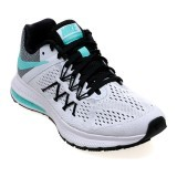 Spek Nike Women S Air Zoom Winflo 3 Running Shoes White Hyper Turquoise Black Indonesia
