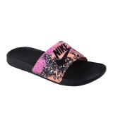 Harga Nike Womens Benassi Jdi Print Sandal Olahraga Wanita Black Sunset Glow Fire Satu Set