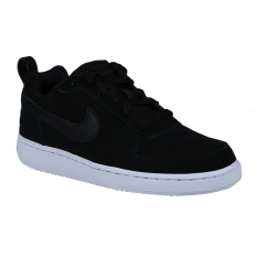Spesifikasi Nike Womens Court Borough Low Sneakers Olahraga Wanita Black Black White