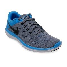 Toko Nike Women S Flex 2016 Rn Running Shoes Cool Grey Black Blue Glow White Termurah Di Indonesia