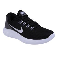 Kualitas Nike Womens Lunarconverge Sneakers Olahraga Wanita Black White Dark Grey Nike