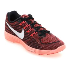 Beli Nike Womens Lunartempo 2 Sepatu Lari Wanita Bright Crimson Putih Hitam Bright Mn Seken