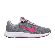 Harga Nike Womens Runallday Sepatu Lari Wolf Grey Pink Original