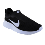 Harga Nike Womens Tanjun Slip On Sneakers Olahraga Wanita Black White Terbaik