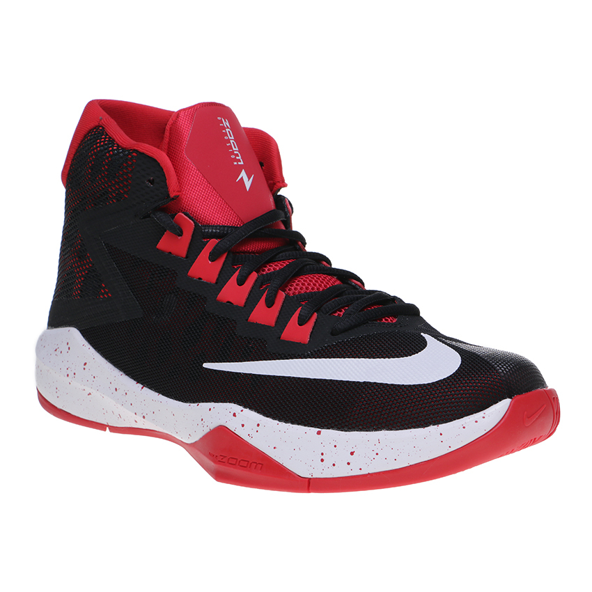 Harga Nike Zoom Devosion Men S Basketball Shoes Black White University Red Nike Online