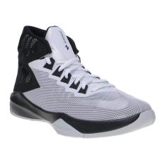 Toko Nike Zoom Devosion Men S Basketball Shoes White Metallic Silver Black Lengkap Di Indonesia
