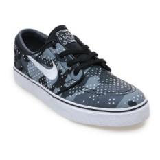 Beli Nike Zoom Stefan Janoski Canvas Premium Sepatu Lari Pria Wolf Grey Putih Cool Grey Hitam Secara Angsuran