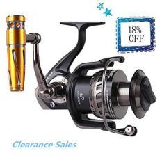 Noeby Saltwater Trolling Spinning Reel Full Metal Body Heavy Duty Jigging Fishing Reel with Gear Ratio