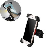 Beli Non Slip 360 Rotating Bicycle Bike Phone Holder Handlebar Stand Mount Bracket Intl Murah Tiongkok