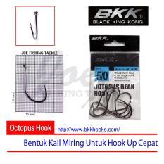 Obral Murah BKK Size 5/0 Octopus Beak Hook - Mata Kail Pancing Tajam & Kuat