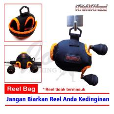 Obral Murah Kamikaze BC Reel Cover Jugy 102 - Tas Reel Pancing Bait Cast Reel Bag