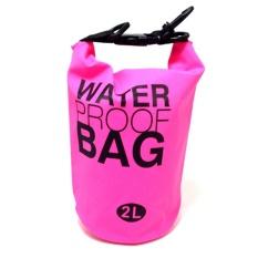 Ocean Pack Dry Bag Water Prooof Bag Tas Anti Air 2 Liter - Pink