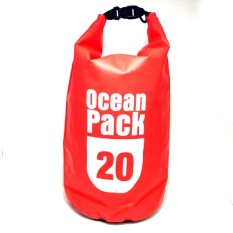 Diskon Ocean Pack Dry Bag Water Prooof Bag Tas Anti Air 20 Liter Red