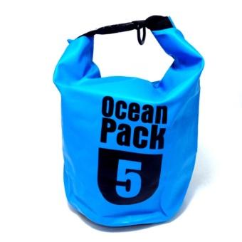 Pencarian Termurah Ocean Pack Dry Bag Water Prooof Bag Tas Anti Air 5 Liter - Aqua harga penawaran - Hanya Rp73.158