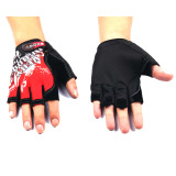 Oem Gloves Half Finger Very Good Merah Diskon Akhir Tahun