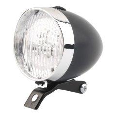 Toko Sepeda Oh Sepeda Retro 3 Memimpin Cahaya Lampu Senter Lampu Depan Model Baru Hitam Not Specified Online