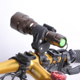Cuci Gudang Oh Universal Lampu Obor Senter Sepeda Memimpin Gunung Golongan Pemegang 360° Rotation